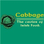 Funny Cabbage Irish T-Shirts