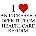 I Love Health Care Deficit