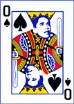 Obama Playing Card