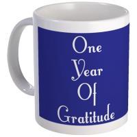 Sobriety Gratitude Coffee Mugs