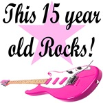 15 YEAR OLD ROCK N ROLL