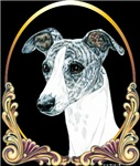 Brindle Whippet Holiday Christmas Unique Gift Item
