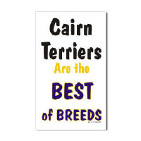 Cairn Terrier Dog Stickers