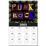 Punk Rock Design Calendars