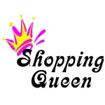 Shopping Queen t-shirts and gifts.