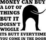 Dog Money Saying