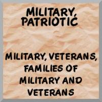 Military, veterans, patriotic merchandise