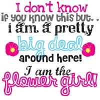 Big Deal Flower Girl