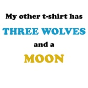 Three Wolves & Moon