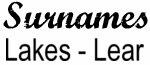 Vintage Surname - Lakes - Lear
