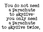 Skydive Twice