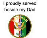 Proudly Served Dad