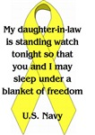 Daughter in law Blanket of Freedom