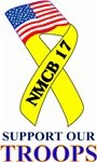 Support the troops NMCB 17