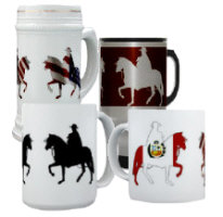 Peruvian Paso Mugs and Steins