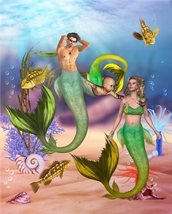 Best Seller Merrow Mermaid 4