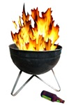 Flaming BBQ