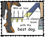 Always leave with the best dog