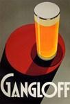 Gangloff Beer, Vintage Poster