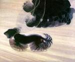 Dynamism of a Dogon a Leash