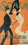 Scala, Dancing, Vintage Poster