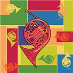 French Horn Colorblocks