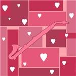 Alto Clarinet Hearts