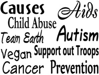 Causes & Awareness-Zizzle