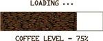 Loading coffee level