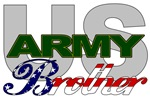 US Army Brother Stars & Stripes T-shirts & Gifts