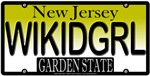 Wicked Girl New Jersey Vanity License Plate