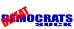 Defeatocrats Suck (Anti Democrat) T-shirts & Gifts