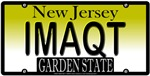 I'M A CUTIE New Jersey Vanity License Plate Design