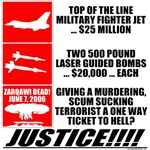 Killing Terrorists Is Justice! T-shirts & Gift D