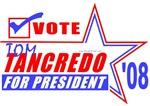 Vote Tom Tancedro For President 2008