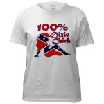 100% Dixie Chick T-shirt & Apparel