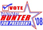 Vote Duncan Hunter 08 T-shirts & Gifts