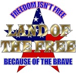 Land of the Free T-shirts and Gifts