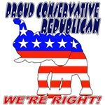 GOP Proud Conservative Republican T-shirts & Appar