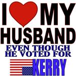 I Love My Husband (Even If He Voted For Kerry)