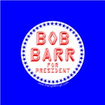 Bob Barr For President Buttons & Magnets