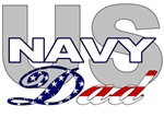 US Navy Dad T-shirts, Merchandise & Gifts