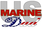 USMC Dad T-shirts, Merchandise & Gifts
