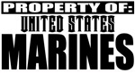 Property of US Marine Corps Apparel & Gifts