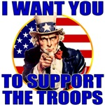 Support the Troops Uncle Sam