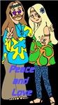 Peace & Love Hippie Couple