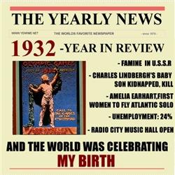 born in 1932 birthday gift