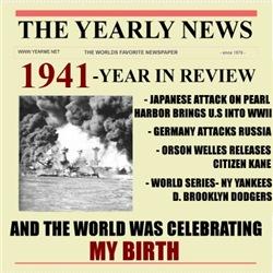 born in 1941 birthday gift