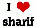 I Love sharif