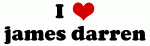 I Love james darren